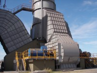 Induced draught fans for smoke purification system (Argentina)