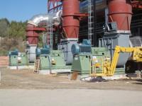 Ventiladores principales planta RSU Waste Incineration Plant (España)