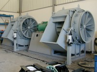 Fans for auxiliary boilers (Cuba)