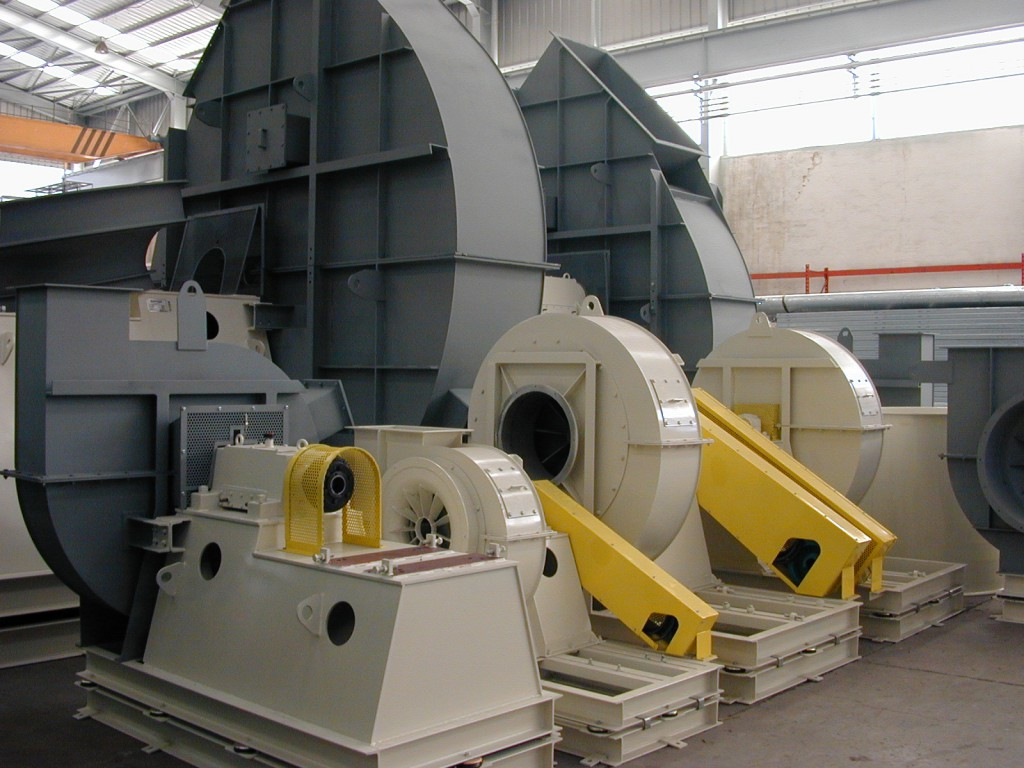 Types Of Centrifugal Blowers : Centrifugal fans