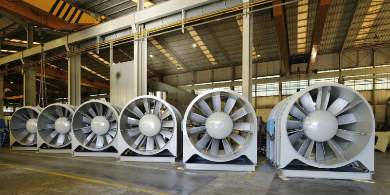 Tunnel Ventilation Fans : Tunnel fans