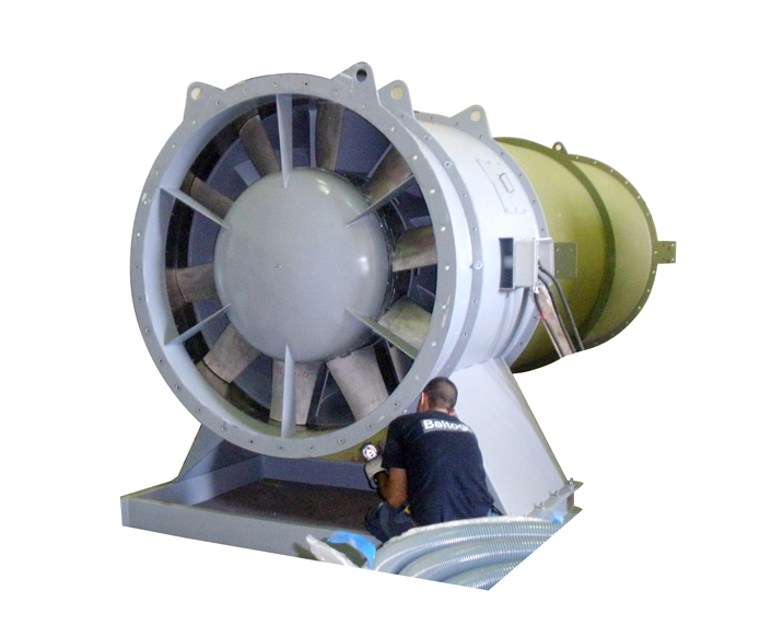 Axial Fans For Tunnels : Tunnel fans